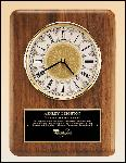 American Walnut Vertical Wall Clock. (BC888)